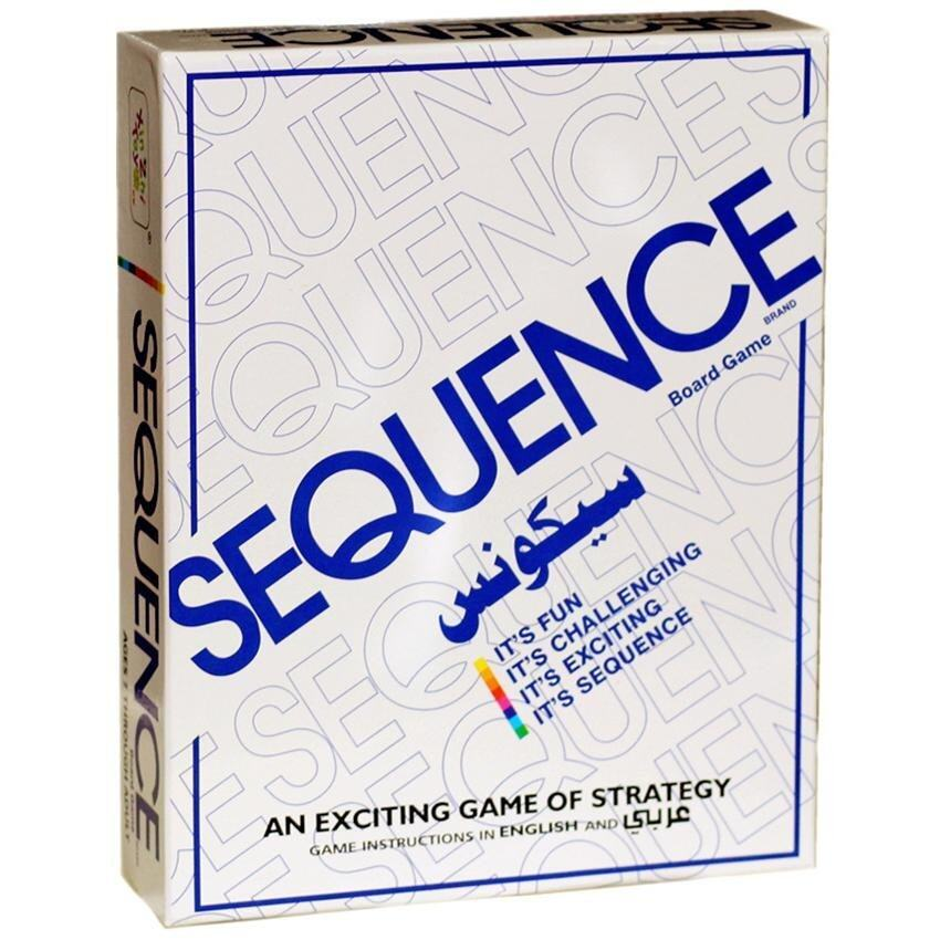 ENGLISH VERSION HOT SALE Sequence Board Game Suitable for 2-12 Players Family Game - intl