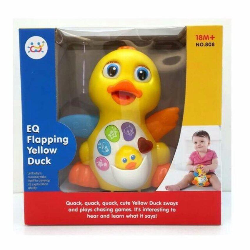 EQ Flapping Yellow Duck ของเล่นเสริมพัฒนาการ เจ้าเป็ดน้อยเต้นดุ๊กดิ๊ก