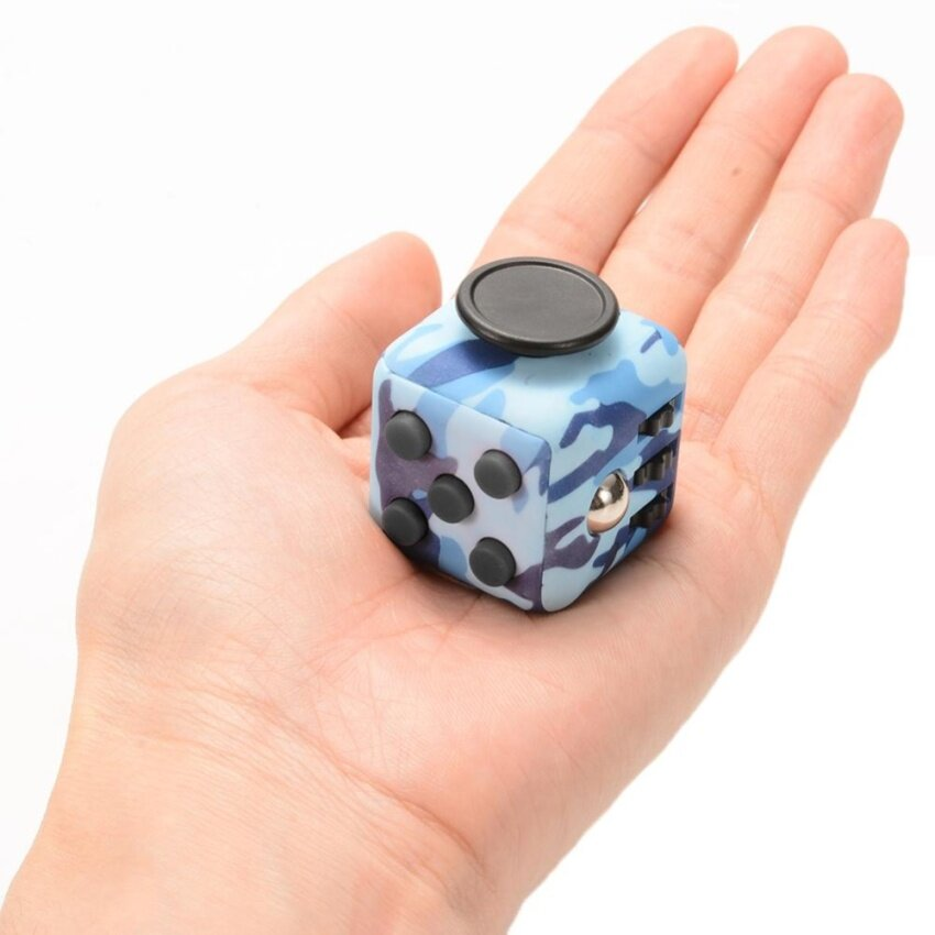 Fidget Cube Psychological Decompression Anti Anxiety Magic Cube Dice Toy For Children And Adults - intl