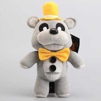 FNAF Freddy Teddy Bear Plush Toys Five Nights at Freddy Gray Color Bear Stuffed Dolls 12 30 CM - intl