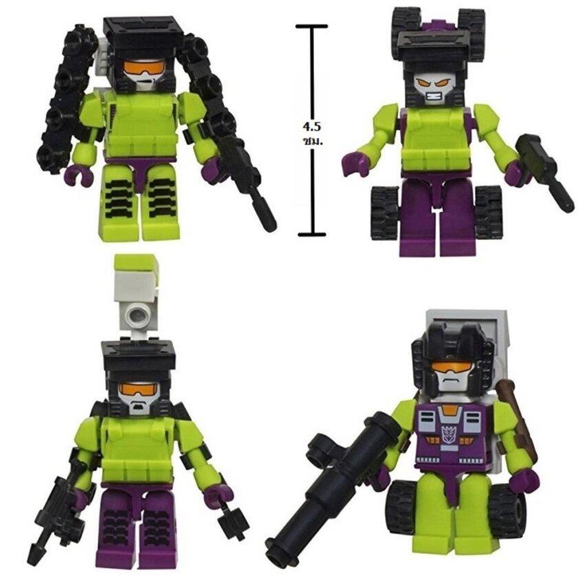 G2G ชุดตัวต่อหุ่นยนต์ประกอบร่าง 4 แบบ ของเล่นเสริมทักษะ 1 ชุด จำนวน 4 ชิ้น