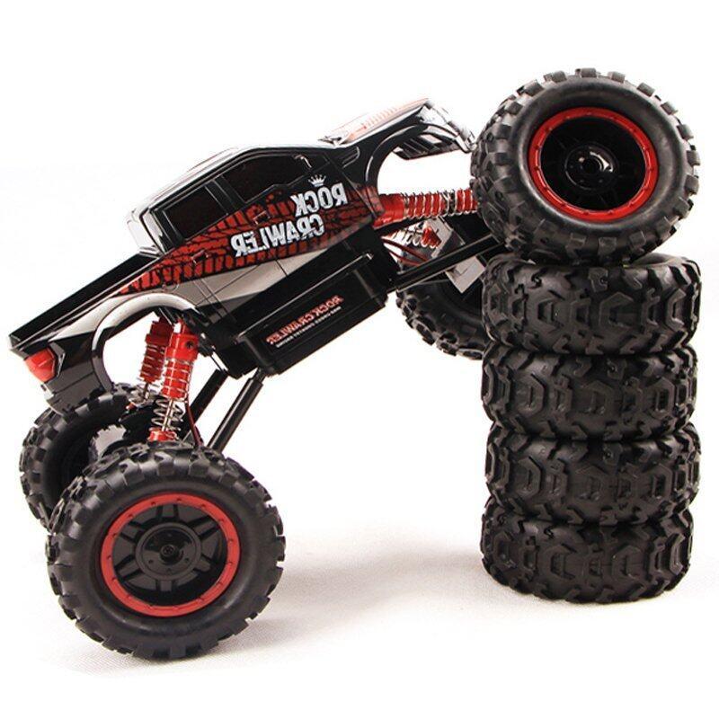 ขาย Gadget รถบิ๊กฟุตบังคับวิทยุ4WD Rock Crawler 2.4ghz 1/14 ( Black )