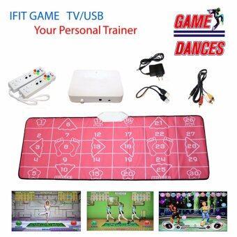 Game Sport iFit 32Bitแผ่นเกมส์ออกกำลังกายในบ้านเหมือนมีเทรนเนอร์ส่วนตัว สำหรับเล่น โยคะแอโรบิค เกมส์เต้น และเกมส์อื่น ๆ รวม 30 เกมส์