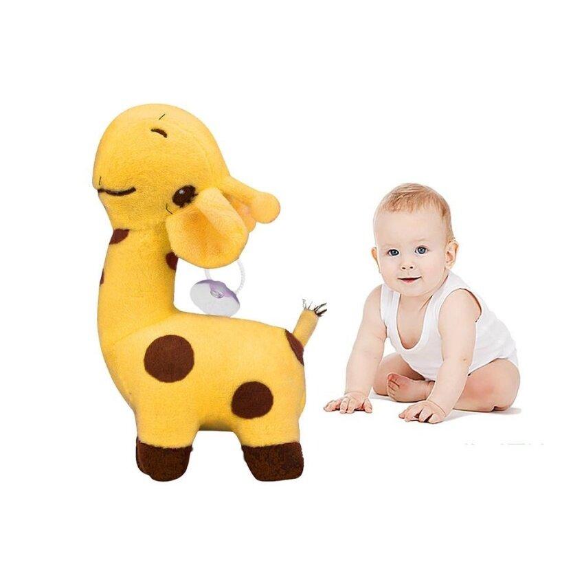 Giraffe Dear Soft Plush Toy Animal Dolls Baby Kid Birthday Party Gift YE - intl