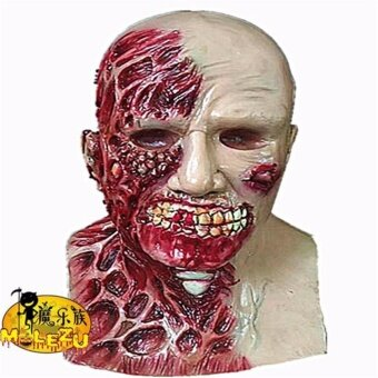 GoSport Halloween Parody Scary Masks Zombie Soft Latex Headgear Cosplay Masker Festival - intl