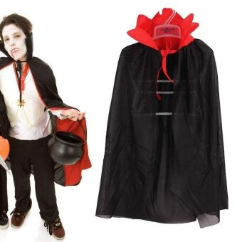 Gothic Hooded Clothe Bloodsucker Witch Kids Fancy Party Hot Costume Halloween - intl