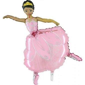 Grabo 42 Inch Pink Ballerina Girl Foil Balloon - intl
