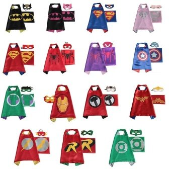 Halloween girls child costumes for kids boys party carnival cosplaybaby costume accessories clothing Clothes superhero capes - intl