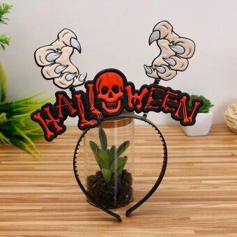 Halloween Hair hoop pumpkin Witch hair Hoop - F - intl