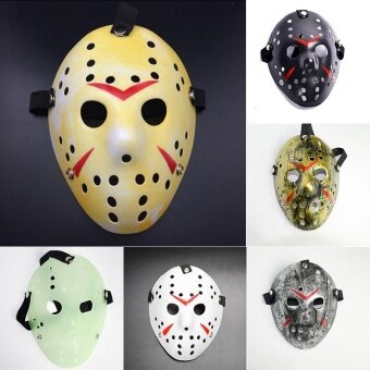 Halloween Party Horror Hockey Fancy Helmet Costume Cosplay Killer Mask - intl