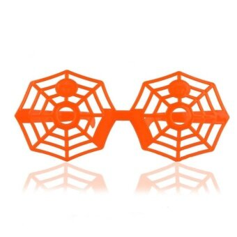 Halloween Trick Glasses Googles Pumpkin Spiderweb Deer ShapeFestival Joke - intl