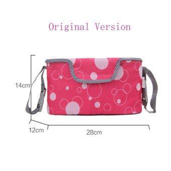 Haotom Baby Stroller Bag Organizer Baby Car Hanging Basket Storage Stroller Accessories-Original Version Red