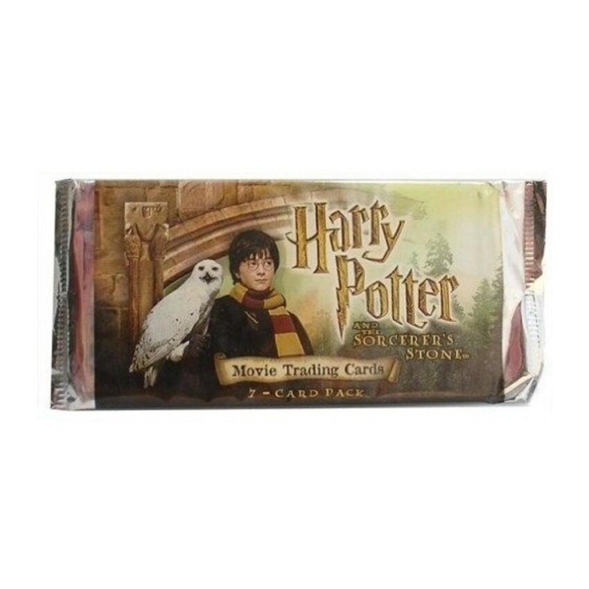 Harry Potter And The Sorcerers Stone Booster Pack (7 Cards) [Toy] - intl
