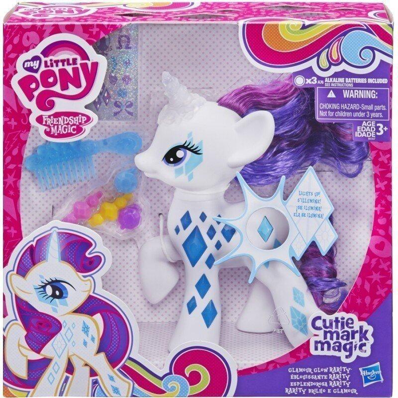 Hasbro Little PONY CUTIE MARK MAGIC GLAMOUR GLOW (White)