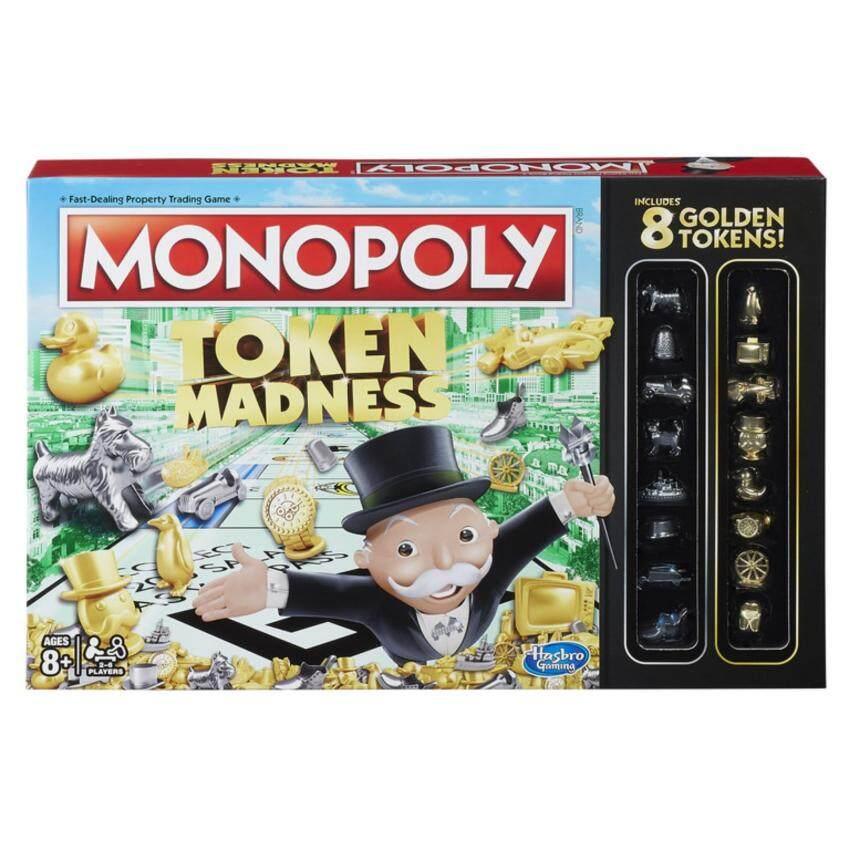 HASBRO MONOPOLY TOKEN MADNESS ฮาสโบร โมโนโพลี เกมส์เศรษฐี โทเค่น แมดเนส ลิขสิทธิ์แท้