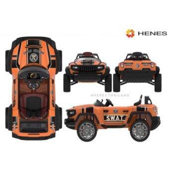 รถเด็ก รถยนต์สำหรับเด็ก รถแบตเตอรี่ รุ่น T870 Full Time4x4 WD ORANGE S.W.A.T