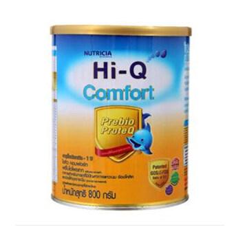 HI-Q ไฮคิว นมผง คอมฟอร์ท 1 พรีไบโอโพรเทค 800 กรัม