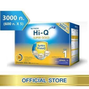 นมผง Hi-Q Supergold ไฮคิว ซูเปอร์โกลด์ ซินไบโอโพรเทก 3000 กรัม (ช่วงวัยที่ 1)