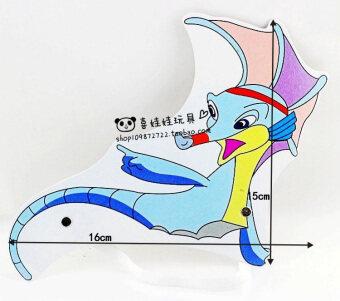 ปูปลาโลมาสิงโตทะเล hippocampus ปลาทอง VISHARK