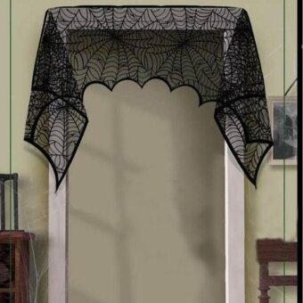 Holloween Halloween Door Window Decor Spiderweb Runner FireplaceFestive Supplies - intl