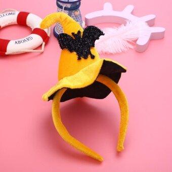 Holloween Pumpkin Magic Hairpin Head Fancy Hairband Cosplay Costume Women Halloween Decor - intl