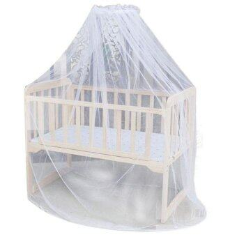 Harga Hot Selling Baby Bed Mosquito Mesh Dome Curtain Net for ToddlerCrib Cot Canopy - intl