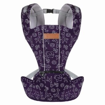 Hot Selling Multi-Fuctional Breathable Baby Carriers ShouldersBackpack-Purple