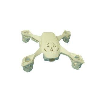 HUBSAN Quadcopter drone อะไหล่ชิ้นส่วนร่างกายเปลือก H107D (White)