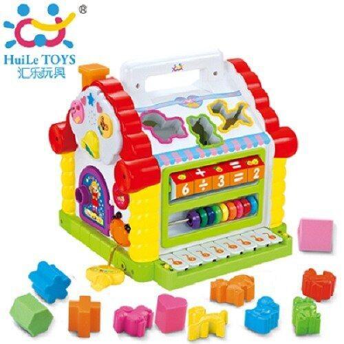 Huile toys บล็อกหยอดบ้าน Funny cottage 739