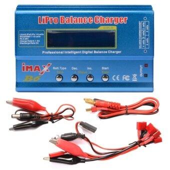 i-MAX เครื่องบาลานซ์ชาร์จ เครื่องชาร์จ B6 LCD Screen Digital RC Lipo Battery Balance Charger Power Supply