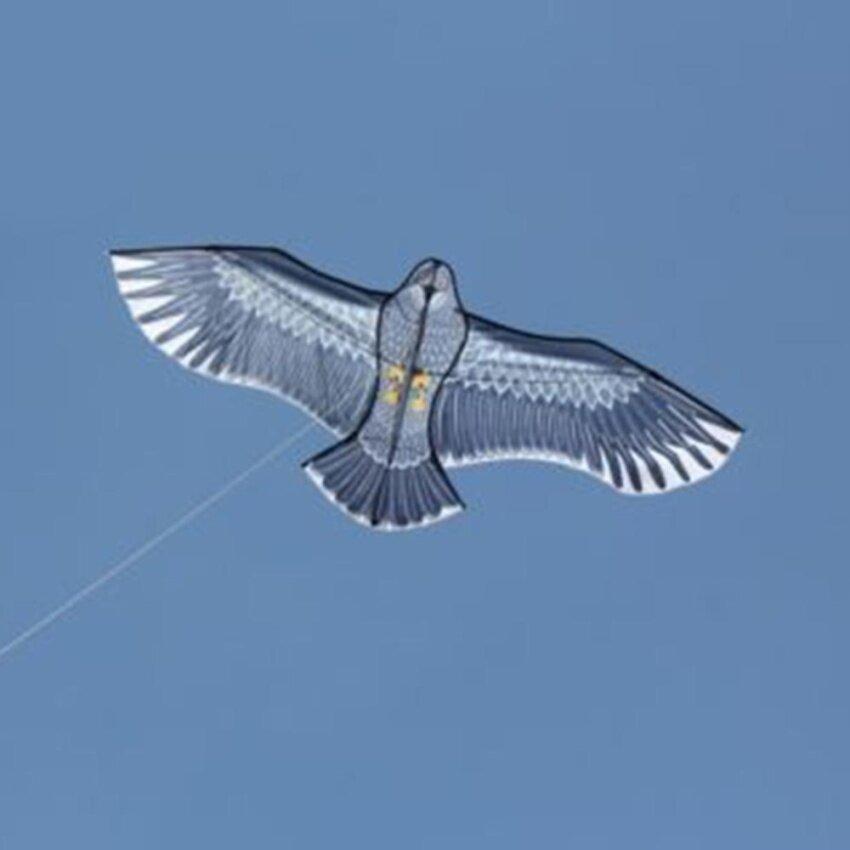 iBelieve New Huge 1.5M Eagle Kite Single Line Novelty Animal Kites Children's Toys - intl