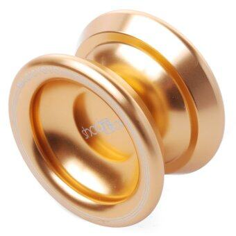 Harga Magic Original Magic T8 Yo-Yo Aluminum Professional Yo-Yo Toys+5xStrings+Glove (สีทอง)