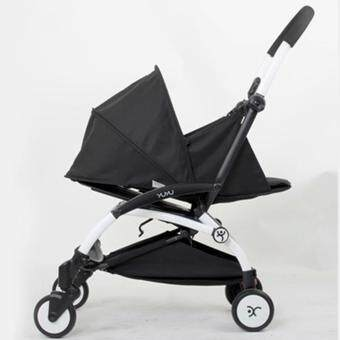 Harga Baby Carriage Sleeping Basket Can Be Folded Flat Stroller Accessories - intl
