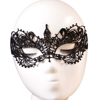 Harga Sexy Lace Face Mask for Masquerade Party Fancy Dress (Black)