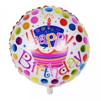Harga Aluminum Foil Membrane Happy Birthday Letters Party Balloons - intl