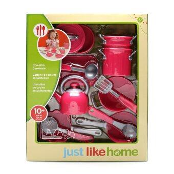 Harga JUST LIKE HOME CAST IRON COOKWARE SET (2 ASST)