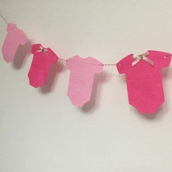 Harga Baby Bunting for Baby Showers or New Born Baby Party Hanging Banner Garland - intl