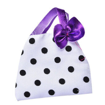 Harga Polka Dot Hangbag for Barbie Doll Toy Polka Dot Fashion Bag Kids Doll Cloth Toys - intl
