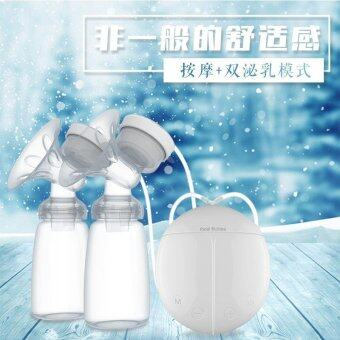 Harga Real Bubeen Double Electric Breast Pumps with 2 Baby Bottles(Readystock ) - intl