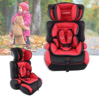 Harga Sinlin 3 In 1 Child Baby Car Seat Safety Booster For 9month - 6years (Red-Black)
