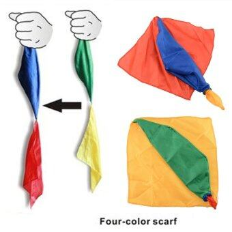Harga New Change Color Silk Scarf For Magic Trick By Mr. Magic Props Tools Toys