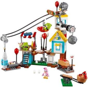 Harga LEGO Angry Birds 75824 Pig City Teardown