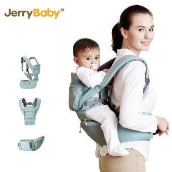 Harga 2-36 Months 36KG Breathable Multifunctional Ergonomic Baby Carrier Infant Comfortable Sling Backpack Hipseat Wrap Baby Kangaroo (Green) - intl