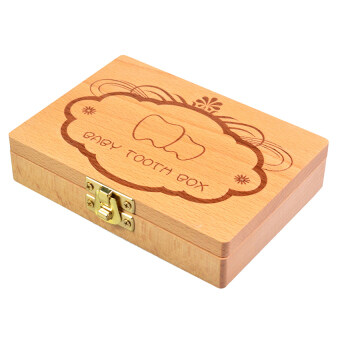 Harga Cocotina Personalised Wooden Baby Tooth Fairy Box