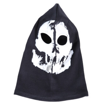 Harga หน้ากาก Cod Call Of Duty Ghost Recon Full Ski Face Mask Balaclava Snowboard Costume