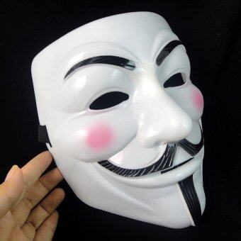 Harga V for Vendetta Party Cosplay Mask - intl