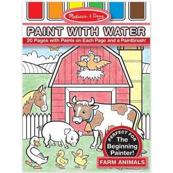Harga Melissa and Doug Paint With Water - Farm Animals