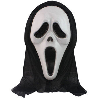 Harga Crazy Ghost Horror Costume Makeup Halloween Party Carnival Cosplay Mask