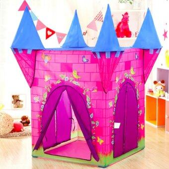 Harga Newest Kids Play Tent Portable Castle Tent - intl