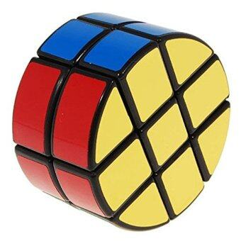 Harga 2 x 3 x 3 Pie-shape Round Column Speed Cube Black Puzzle